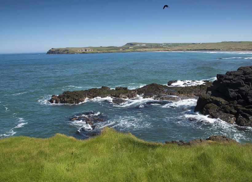 ruwe kust Noord-Ierland