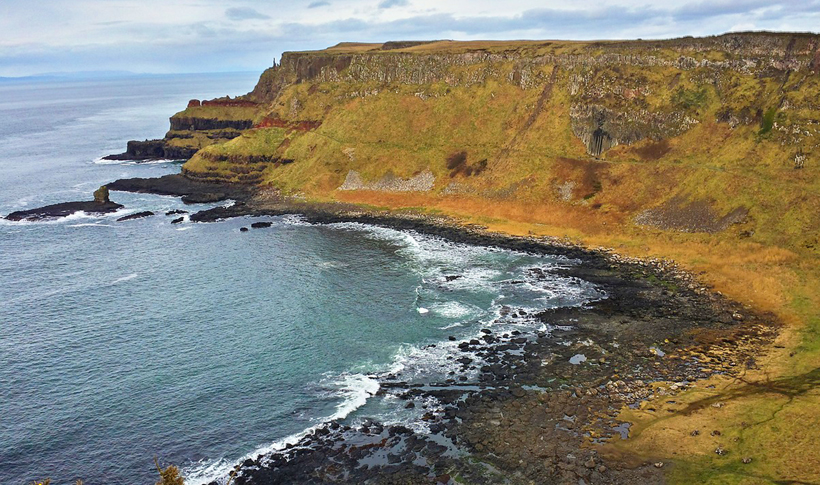 Giant's Causeway in Noord-Ierland
