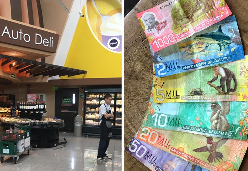 geld wisselen in Costa Rica
