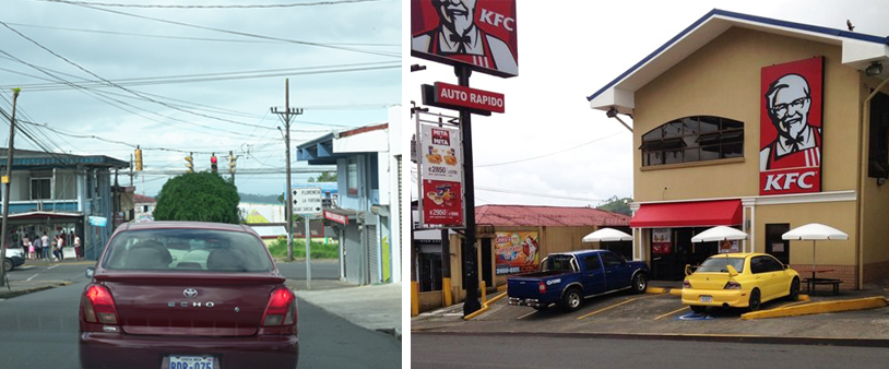 ciudad quesada onderweg van san josé naar la fortuna