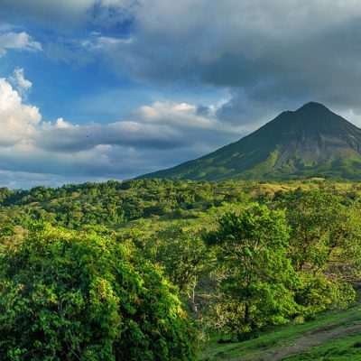 La Fortuna: de Arenal vulkaan en hangbruggen