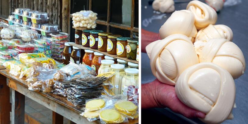 kraampjes in la palmita en queso de palmito
