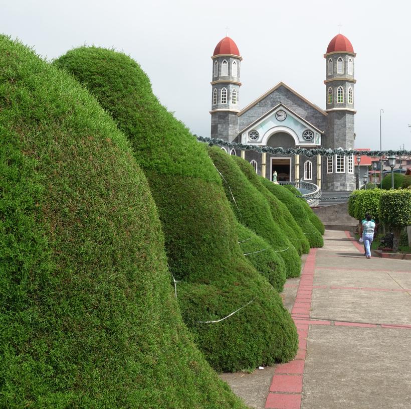 topiary park in zarcero onderweg naar la Fortuna