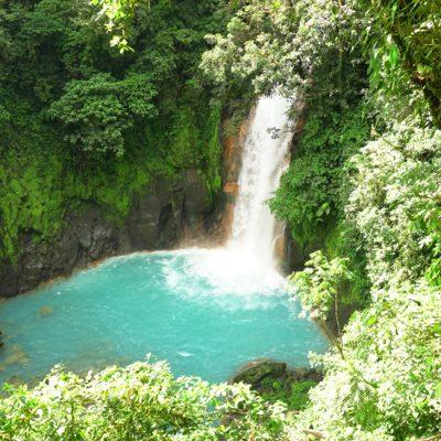 Rio Celeste en Tenorio Volcano Nationaal Park