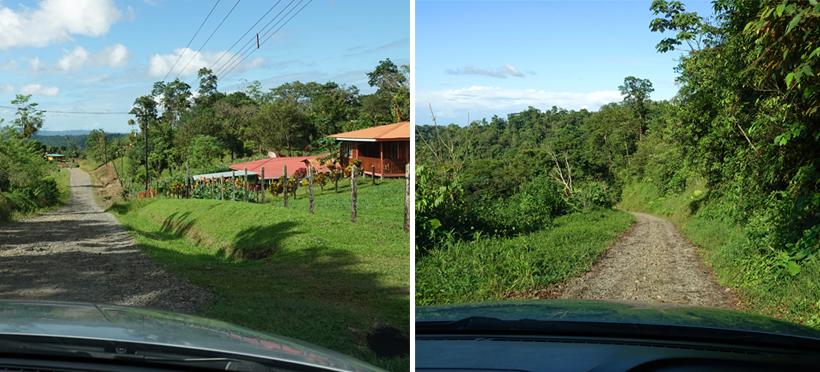dirt road to rio celeste