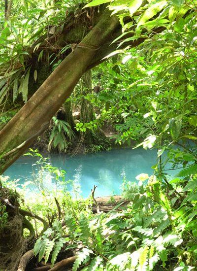 groen costa rica en rio celeste