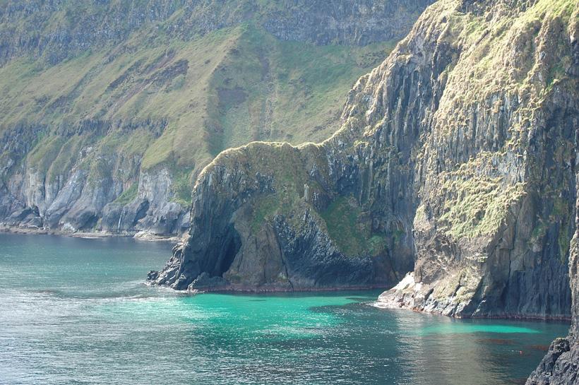 Antrim kust Noord-Ierland