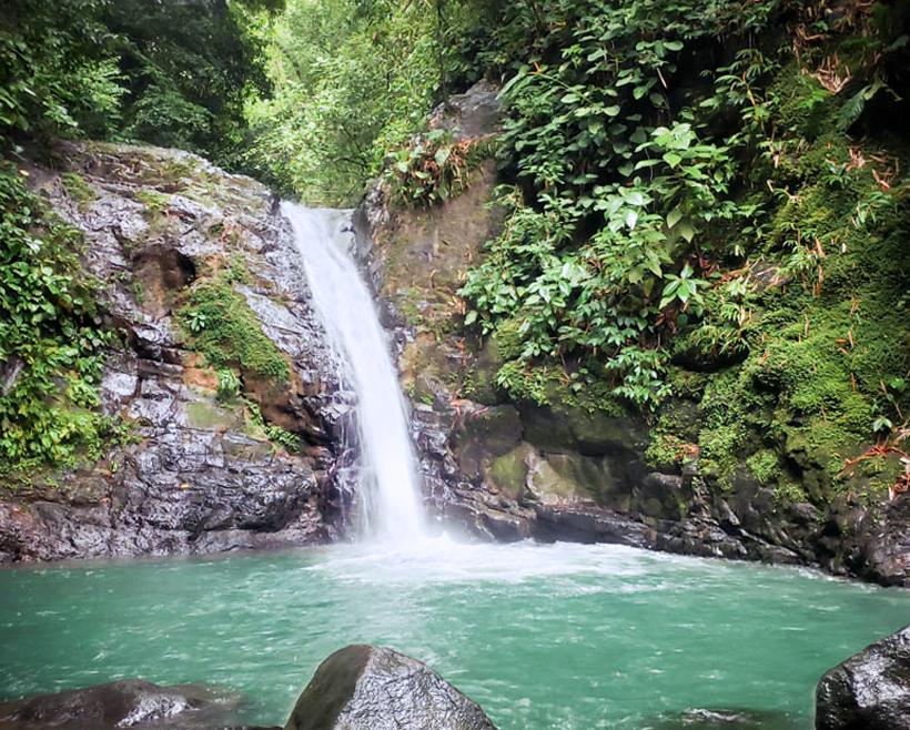 Cascada Uvita waterval