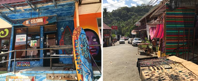 kleurrijk hippie- en surfdorp Montezuma