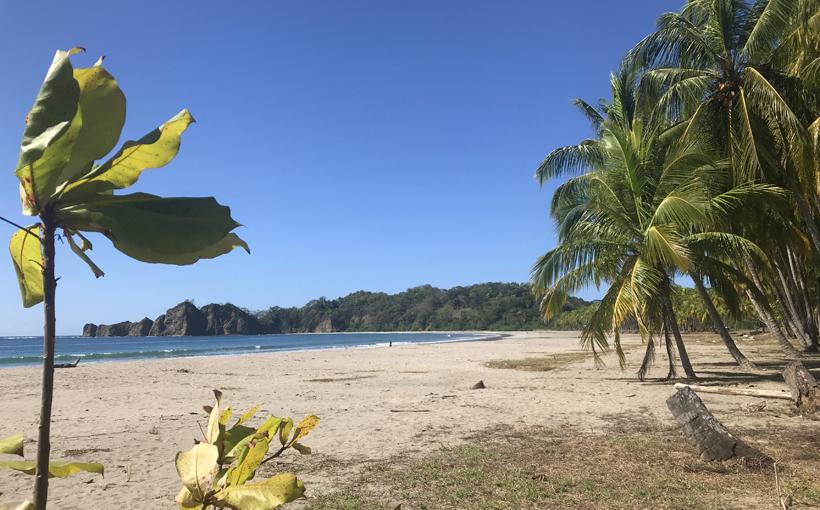 strand Carillo naast Samara