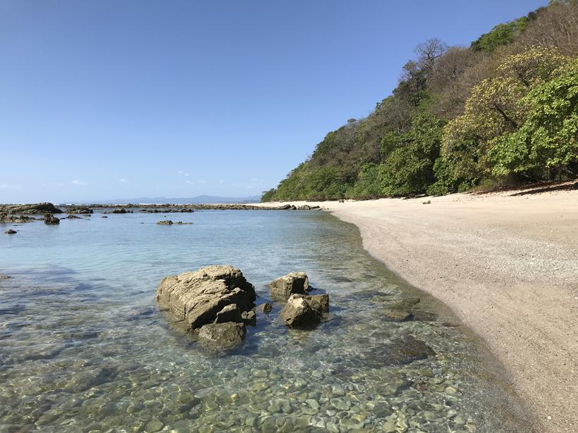 verlaten stranden van samara naar santa teresa