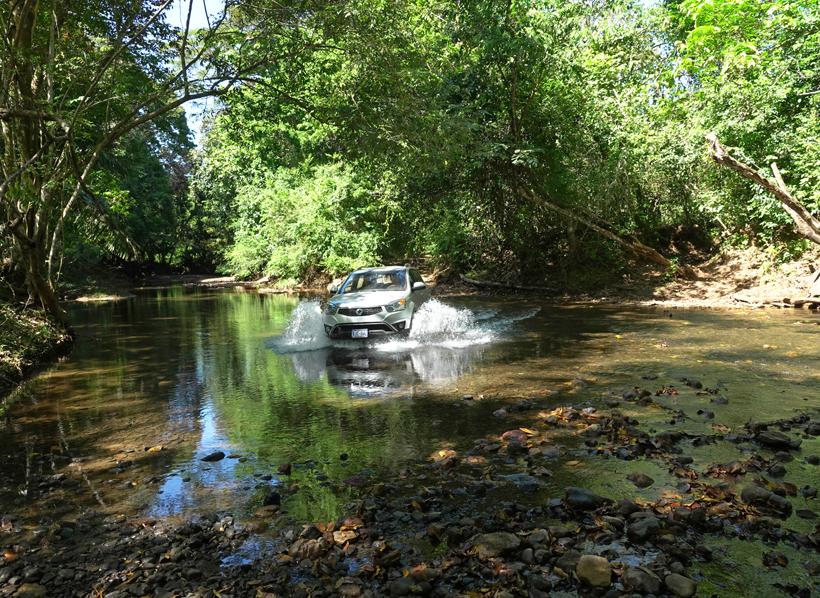 door rivieren van samara naar santa teresa
