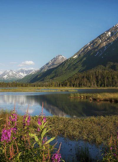 Landschap in Alaska