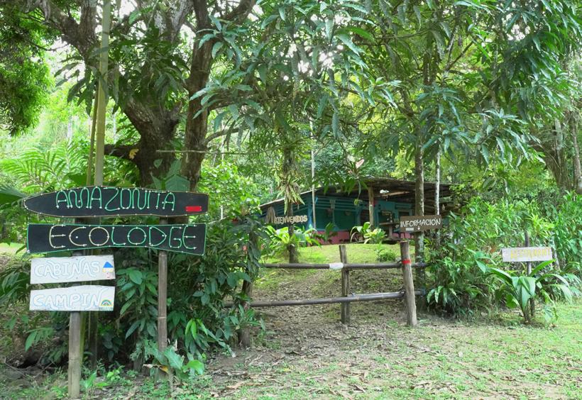 Amazonita eco lodge in Dos Brazos