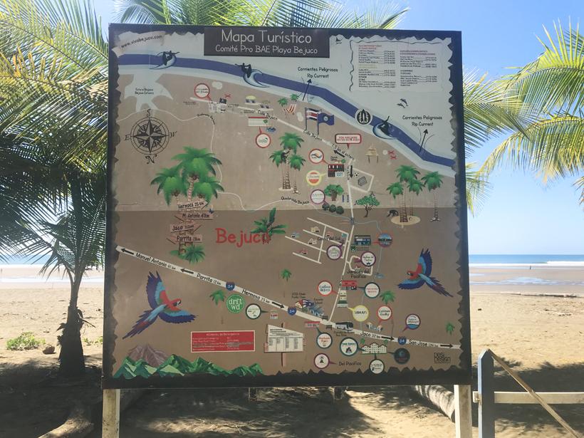 playa bejuco aan de central pacific