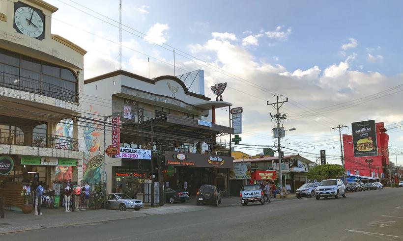 winkels jaco aan de central pacific