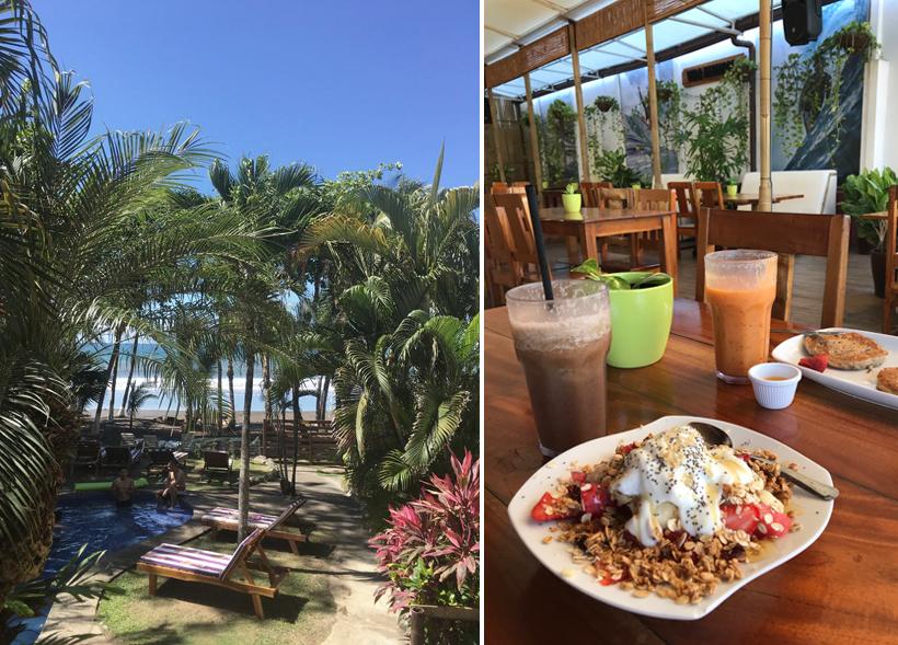 logeren aan het strand central pacific costa rica
