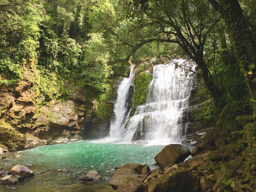nauyaca watervallen