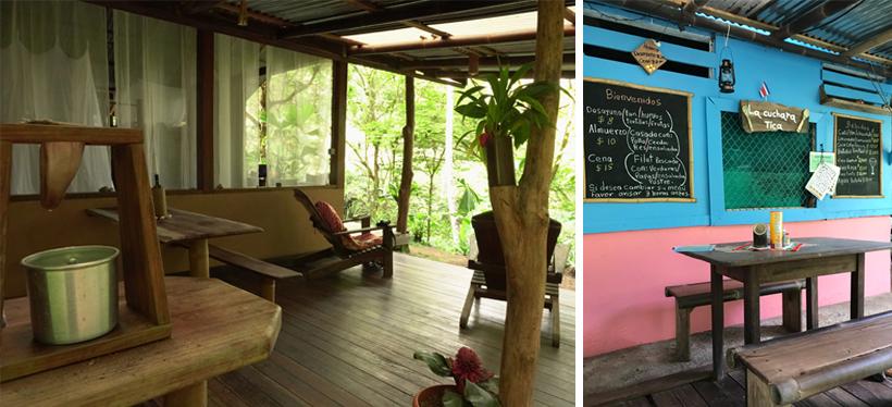Outdoor kitchen casa Zeon en Cuchara Tica in Amazonita eco Lodge