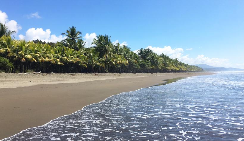 playa Linda aan de Central Pacific