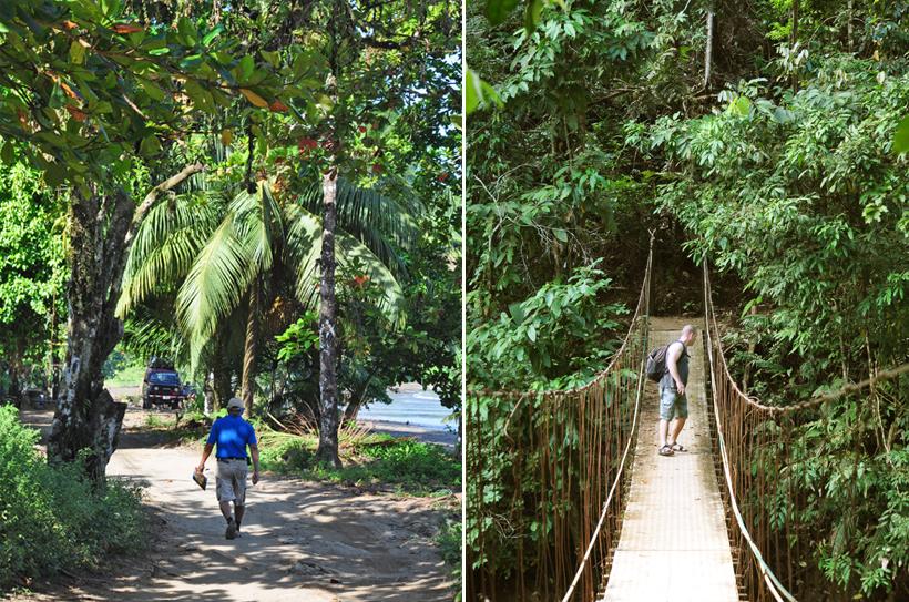 wandeling Drake bay trail