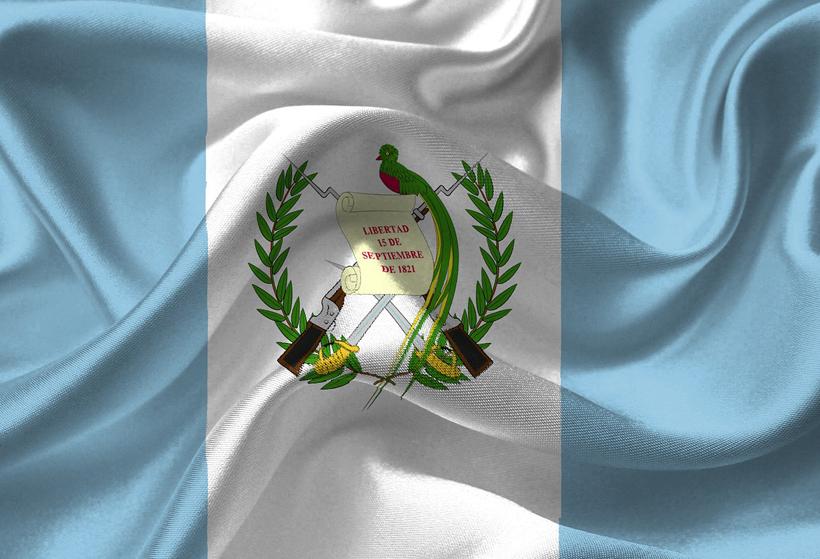quetzal in embleem vlag van Guatemala