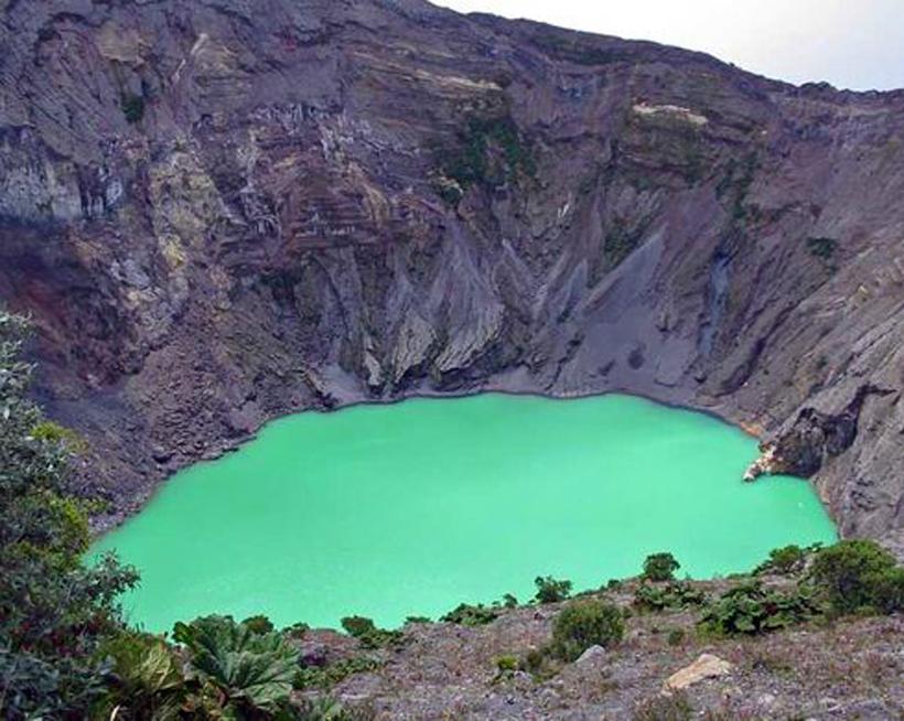 Irazu vulkaan