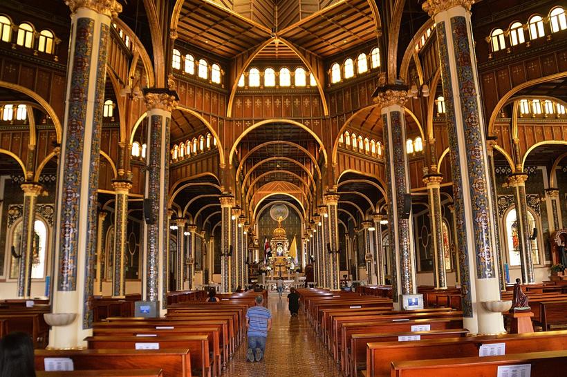 Kathedraal van Cartago in Costa Rica