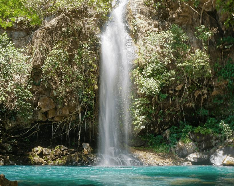 waterval in Rincon de la Vieja