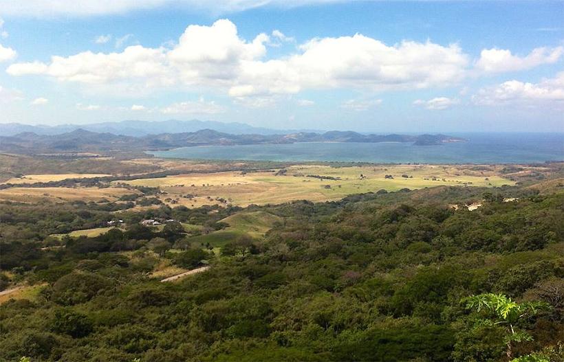 uitzicht mirador op Guanacaste kust