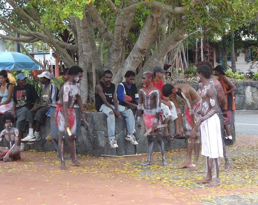 aboriginal entertainment in tropisch Queensland