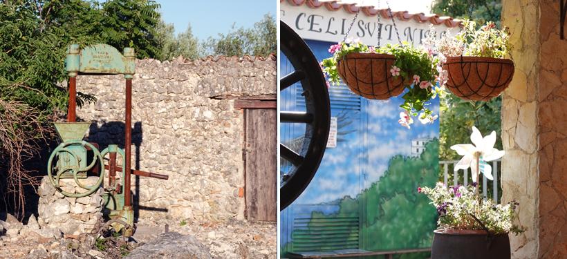 ingang dorp Beli