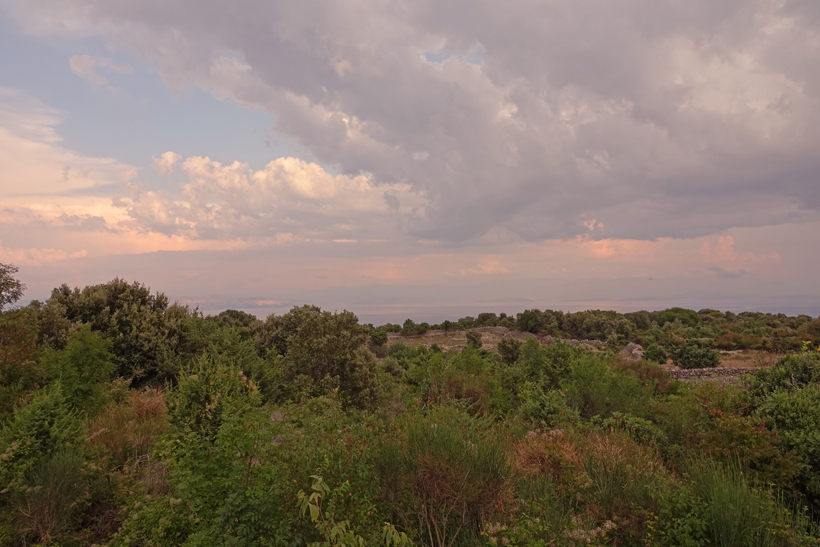 wolkenformaties op Cres