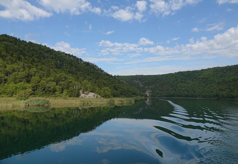 boot vanuit skradin naar watervallen krk