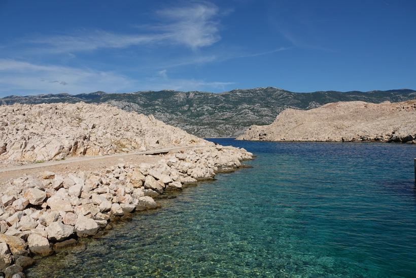 helder water aan de Adriatische kust