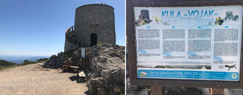 Kula vojak toren in Istrië
