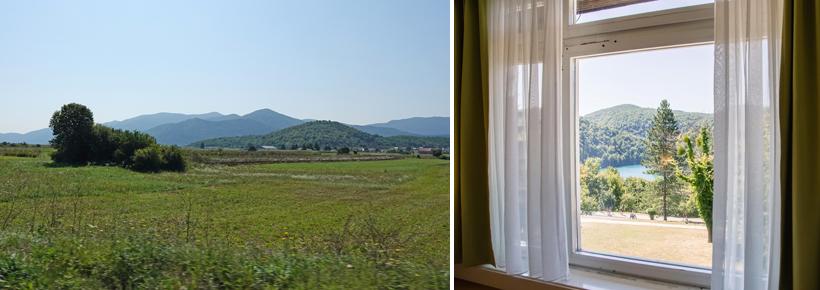 binnenland onderweg naar Plitvice