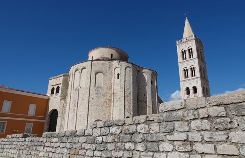Romaanse kerk in Zadar