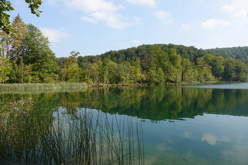 reflectie meer Plitvice