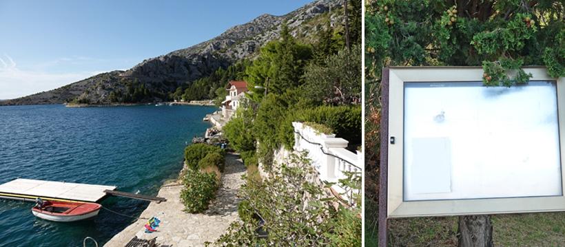 rust aan de Adriatische kust in Lukovo