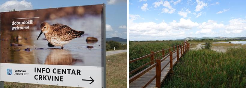 Vransko Jezero aan de Adriatische kust