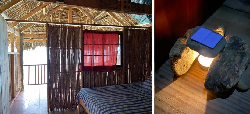 hut met terras met zicht op eiland, zee en vasteland (middenklasse) Narasgandup San Blas