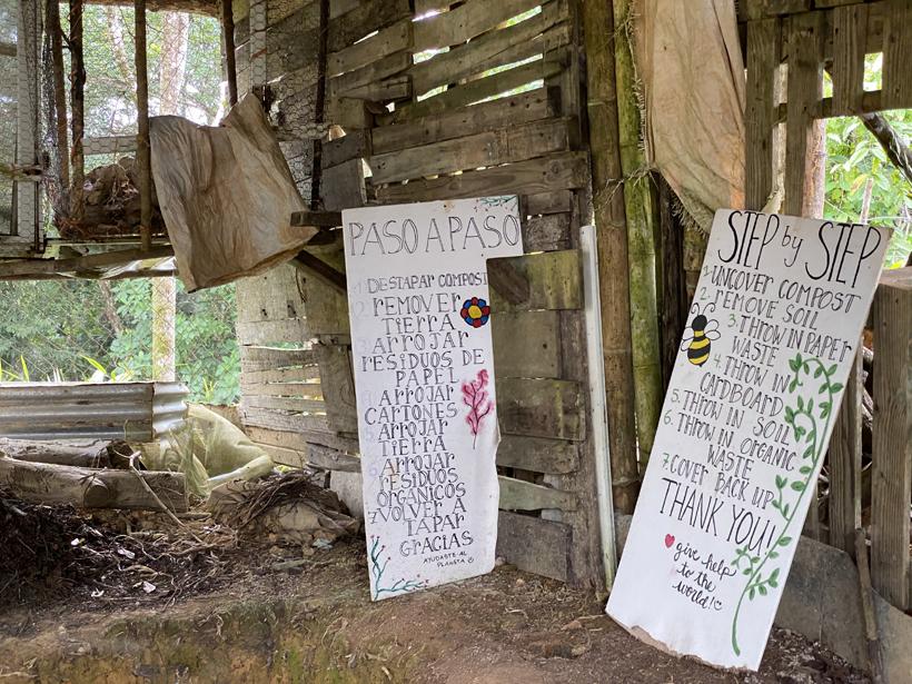 composteren in la Republica Pachamama