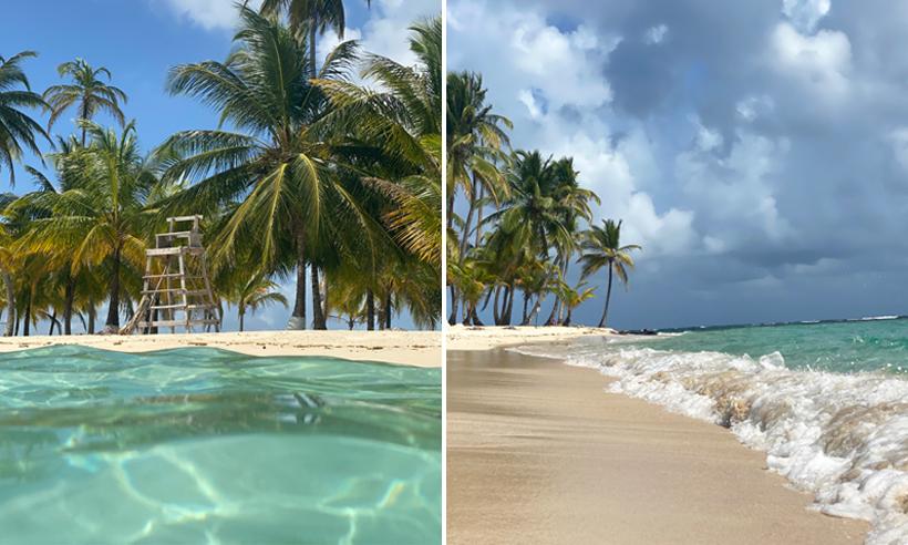 natuurlijk zwembad in San Blas