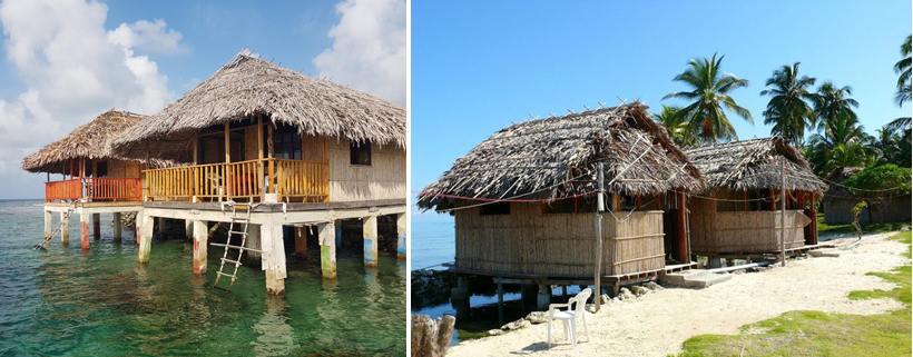 logement Narasgandup op eiland Naranjo Chico