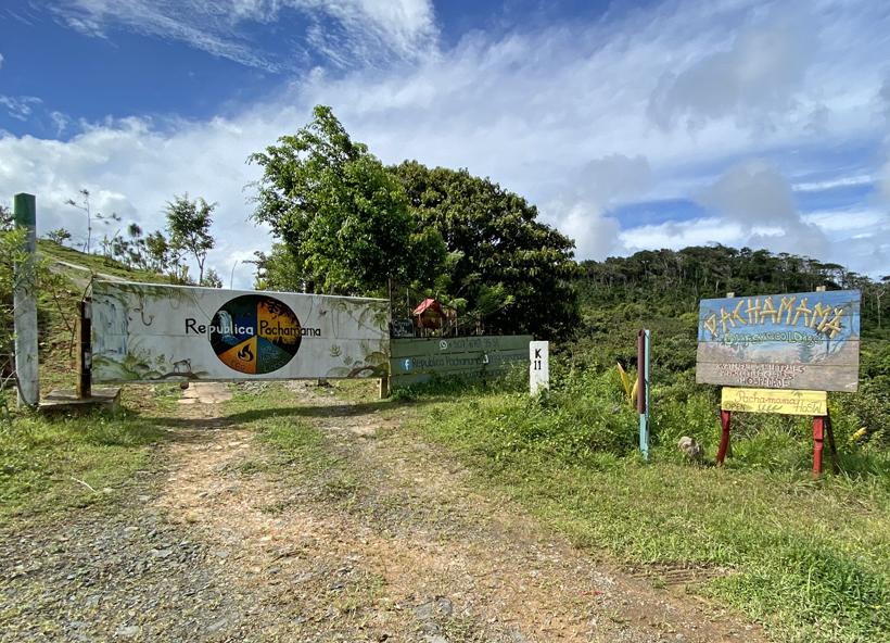 Pachamama poort