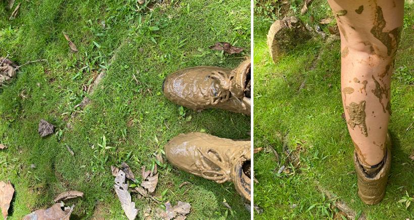 modderpad na regen