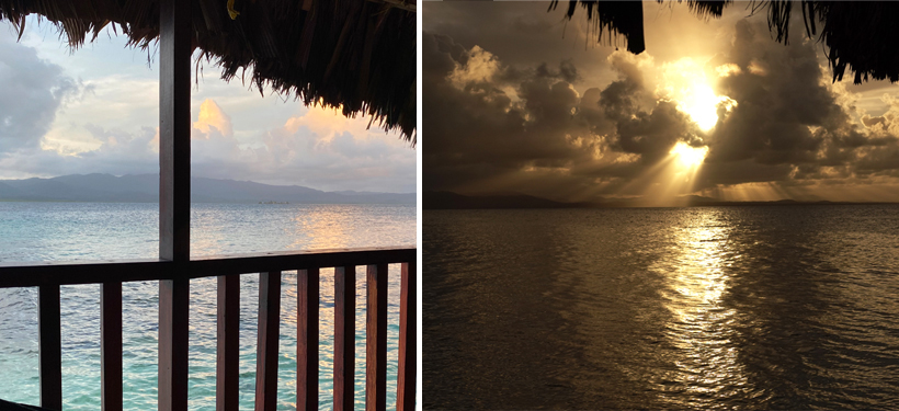 San Blas zonsopgang en zonsondergang Naranjo Chico San Blas