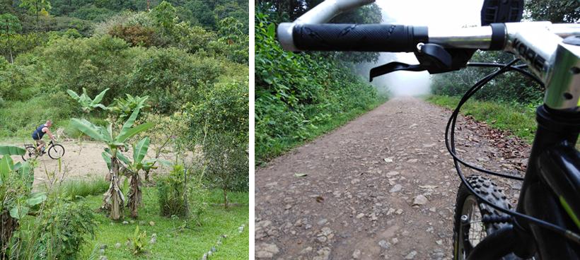 fietsen in La Trinidad