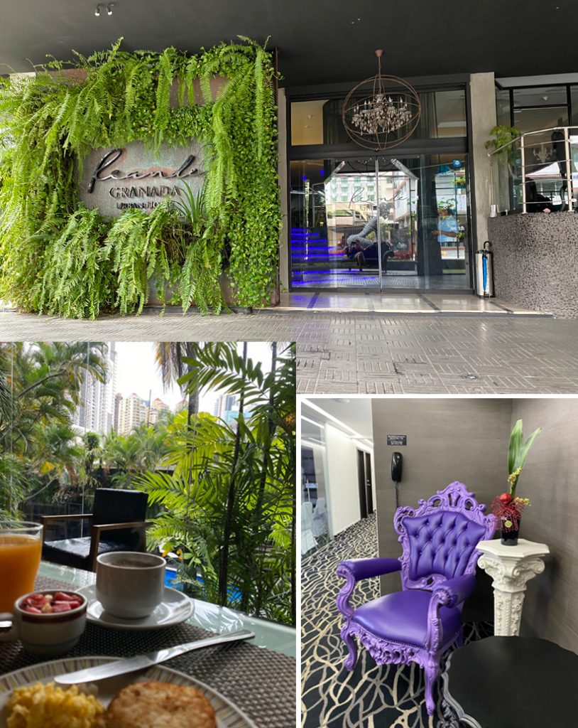 hotel in business district panama city